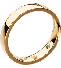 Chaumet Plume 18Ct Yellow Gold Secret Diamond Wedding Band