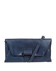 Kooba Ruby Leather Convertible Wallet Navy