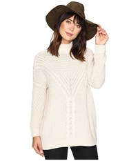 Only Stockholm Highneck Pullover Pumice Stone Women's Clothing Beige