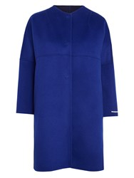 Marella Nover Reversible Coat Cornflower Blue