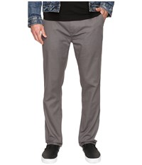 Quiksilver Everyday Union Stretch Chino Castlerock Men's Casual Pants Gray