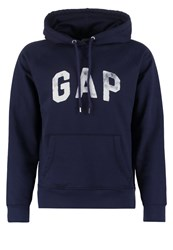 Gap Hoodie Navy Uniform Dark Blue