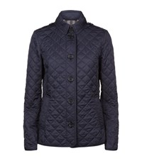 Burberry Ashurst Quilted Jacket Female Navy