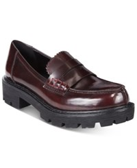 Mojo Moxy Dolce By Sockhop Loafers Women's Shoes Burgundy