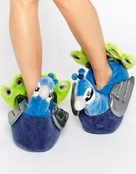 Asos Nayla Peacock Slippers Blue