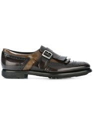 Church's Buckled Strap Loafers Grey