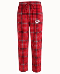 Concepts Sport Men's Kansas City Chiefs Ultimate Flannel Sleep Pants Red