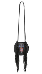 Ash Talulla Drawstring Bucket Bag Black