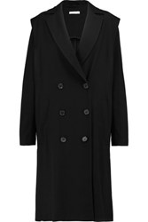 J.W.Anderson Crombie Double Breasted Twill Coat Black