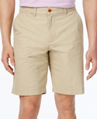 Tommy Hilfiger Men's Big And Tall Flamingo Shorts Mallet