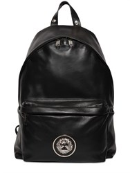 Versus Lion Head Nappa Leather Backpack