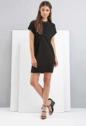 Forever 21 Foxiedox Pintucked Dress Black