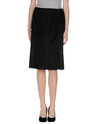Schneiders Knee Length Skirts Black