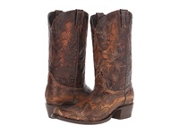 Stetson Outlaw Stitch Waxy Sanded Brown Men's Boots