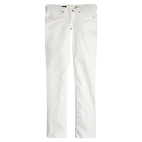 J.Crew Tall Stretch Maternity Matchstick Jean In Chalk White