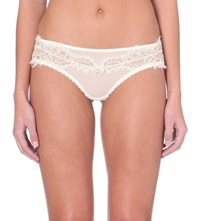 Myla Hipster Lace Briefs Ivory Nude