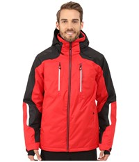 Obermeyer Foundation Jacket True Red Men's Coat