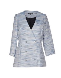 Sister Jane Suits And Jackets Blazers Women Sky Blue