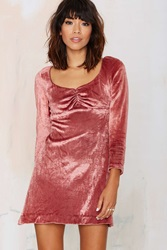 Nasty Gal Vintage Farrow Velvet Dress