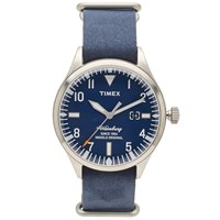 Timex Waterbury Watch Blue