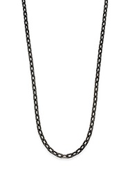 John Hardy Classic Chain Necklace Gunmetal