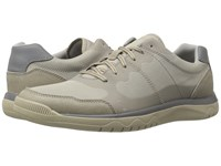Clarks Votta Edge Sand Synthetic Taupe Men's Lace Up Casual Shoes Beige