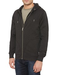 Original Penguin Zipped Hoodie Dark Charcoal Heather