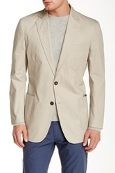 Brooks Brothers Notch Collar Two Button Sports Coat Gray