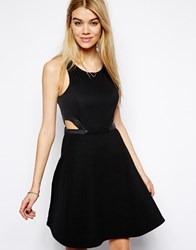 Vero Moda Sleeveless Dress With Cut Out Waist Black
