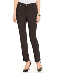 Charter Club Bristol Colored Slim Ankle Jean Rich Truffle