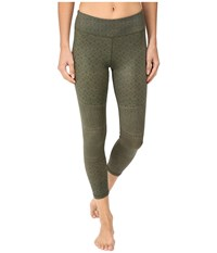 Prana Roxanne Printed Legging Cargo Moto Women's Casual Pants Olive