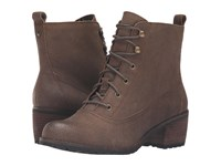 Aetrex Essence Skyler Barley Women's Lace Up Boots Brown