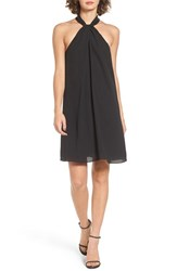 Soprano Women's Knotted High Neck Shift Dress