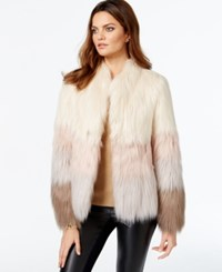 Vakko For Inc International Concepts Faux Fur Ombre Jacket Only At Macy's
