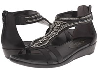 Easy Spirit Amalina 3 Black Black Synthetic Women's Shoes