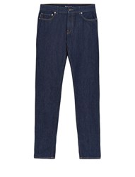 Aquascutum London Edgar Dark Wash Mid Rise Jeans Indigo