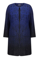 James Lakeland Fantasy Coat Navy