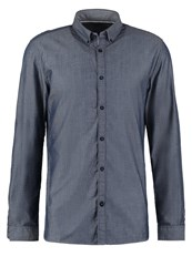 Tom Tailor Fitted Shirt Navy Dark Blue