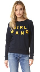 Eleven Paris Girl Gang Sweatshirt Black Iris