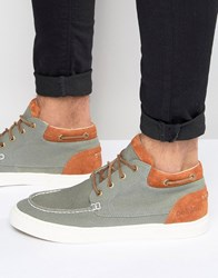 Pointer Taylor Mid Plimsolls Grey