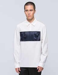 Opening Ceremony Lincoln Twill Pullover Shirt