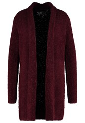 Comma Cardigan Cranberry Dark Red