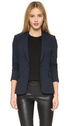 Theory Edition Four Dief Blazer Deep Navy