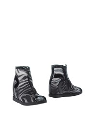 Ruco Line Footwear Ankle Boots Women Black