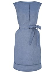 Precis Petite Shirt Dress Blue