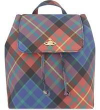 Vivienne Westwood Derby Tartan Small Backpack Mac Charles