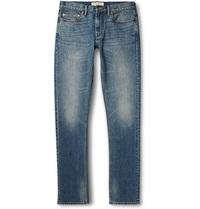 Marc By Marc Jacobs Slim Fit Washed Stretch Denim Jeans Blue