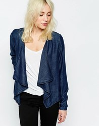 Only Lycocell Drapy Jacket Blue