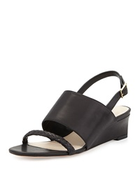 Cole Haan Lise Demi Wedge Slingback Black