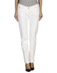 Who S Who Denim Denim Trousers Women White